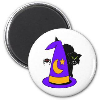 holloween 6 cm round magnet