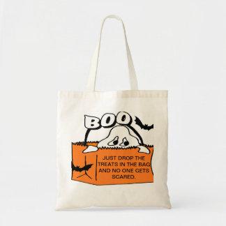 Holloween Bag/ trick or treat Budget Tote Bag
