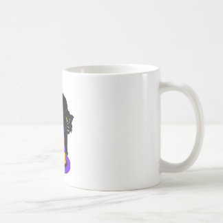 holloween basic white mug