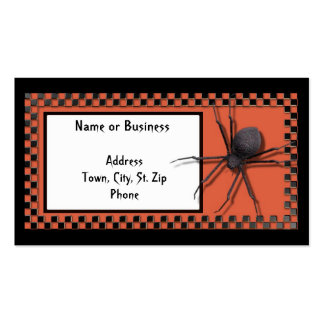 Holloween Business or Personal Card Pack Of Standard Business Cards