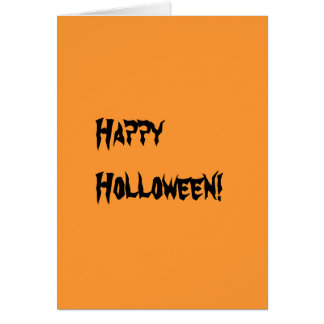 holloween greeting cards