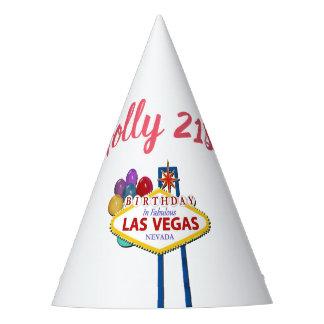 Holly 21st Las Vegas Birthday Party Hat
