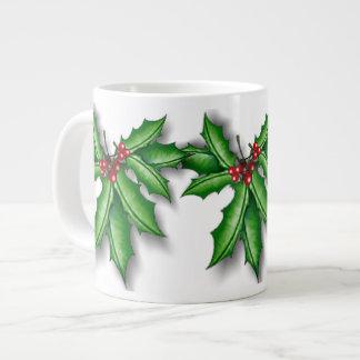 Holly and Berries Mug 20 oz JUMBO