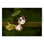 Holly Angel Greeting Cards