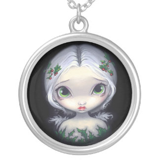 Holly Angel NECKLACE Christmas Fairy