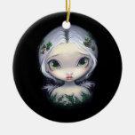 """Holly Angel"" Ornament"