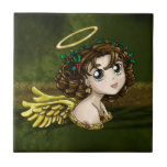 Holly Angel Tile