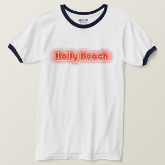 Holly Beach Cajun Riviera Louisiana Ringer Tee