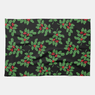 Holly Berries Kitchen Towels