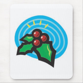 Holly Berries Mouse Pad