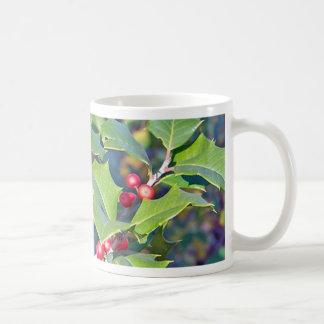 Holly Berries, nature Coffee Mug