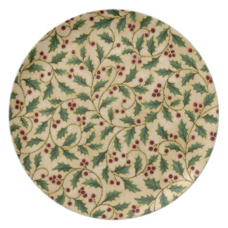 Holly Berries Plate