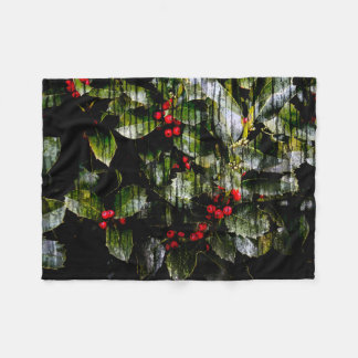 Holly Berry Blanket