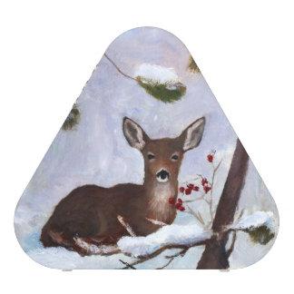 Holly Berry Deer