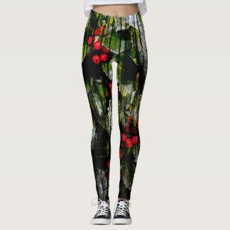 Holly Berry Leggings