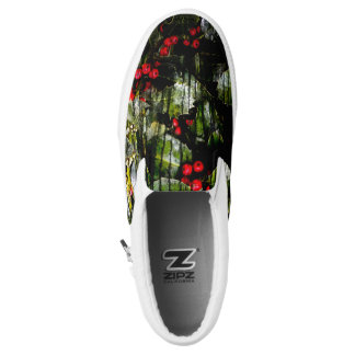 Holly Berry Slip on Shoes