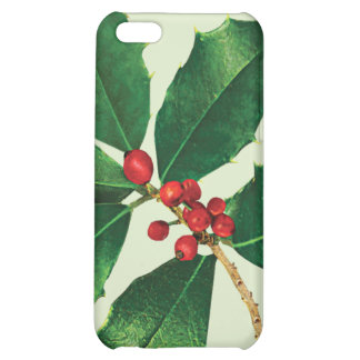 Holly Branch Cover For iPhone 5C