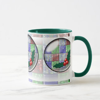 Holly bubble mug
