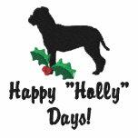 Holly Bullmastiff Embroidered Shirt (Hoodie)