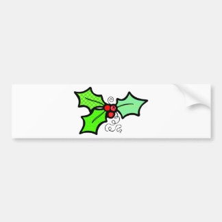 Holly Bumper Sticker