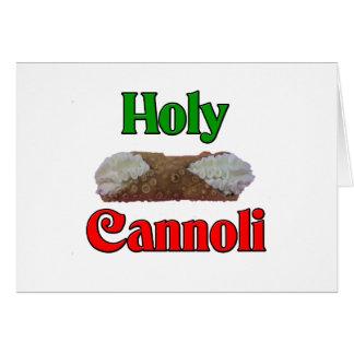 Holly Cannoli Card
