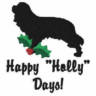 Holly Cavalier Spaniel Embroidered Shirt (Long Sl)