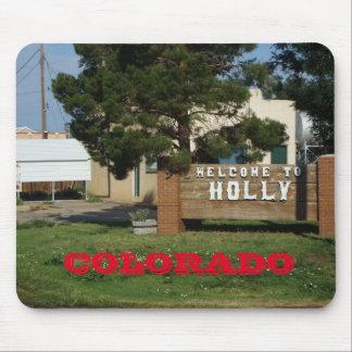 Holly Colorado Mouse Pad