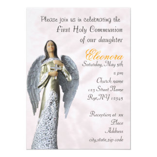 Holly Communion Invitation