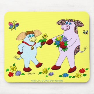 Holly Cow and Belle Mouse Mat