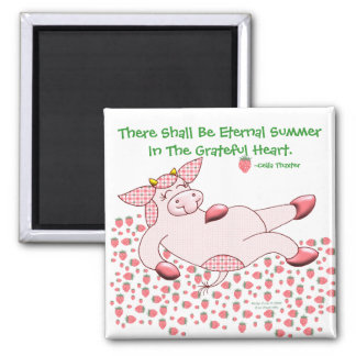 Holly Cow Grateful For Summer Refrigerator Magnets