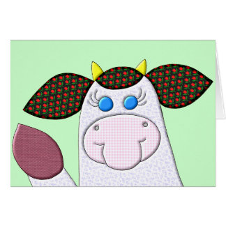 Holly Cow Hi There Card