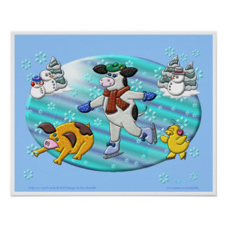 Holly Cow s Winter Wonderland Poster