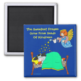 Holly Cow Sweet Dreams Refrigerator Magnet