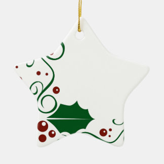 Holly Daze Christmas Ornament