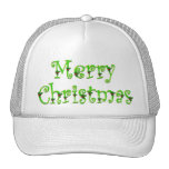Holly Decked Merry Christmas Caps Cap