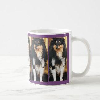 Holly Dog Coffee Mug