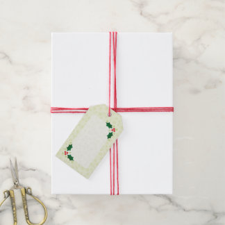 Holly Holiday gift tags