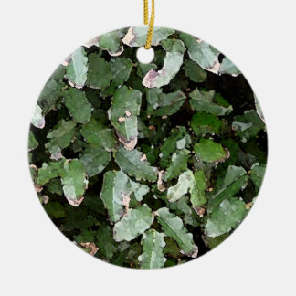 Holly in Watercolor Ornament