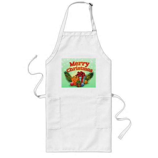 Holly Jolly Christmas Aprons