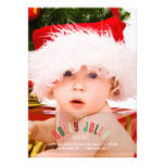 Holly Jolly Christmas Full Page Photo Card