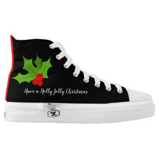 Holly Jolly Christmas High Tops