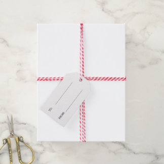 Holly Jolly Christmas Holiday Gift Tags