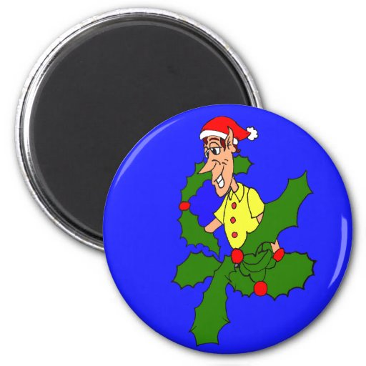 Holly Jolly Christmas Magnets