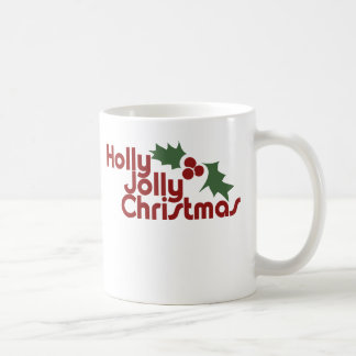 Holly Jolly Christmas Mugs