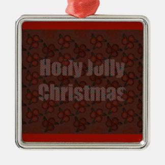 Holly Jolly Christmas Christmas Ornaments