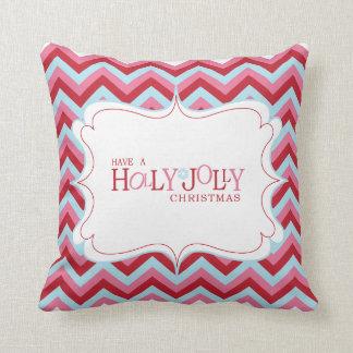 Holly Jolly Christmas Pillow Throw Cushions