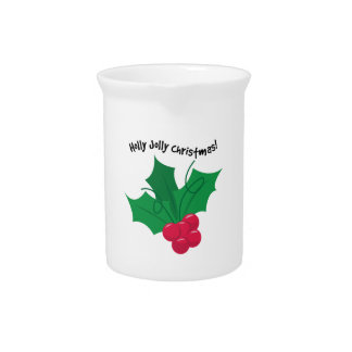 Holly Jolly Christmas! Drink Pitchers