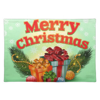 Holly Jolly Christmas Place Mat