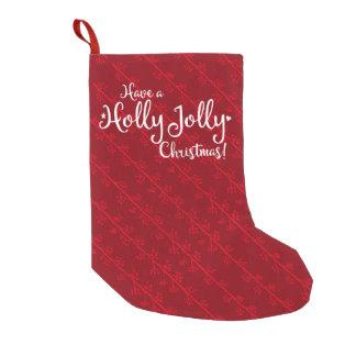 Holly Jolly Christmas Stocking