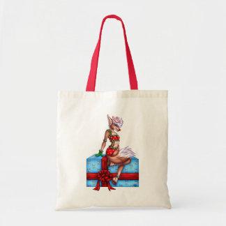 Holly Jolly Christmas Tote Bag